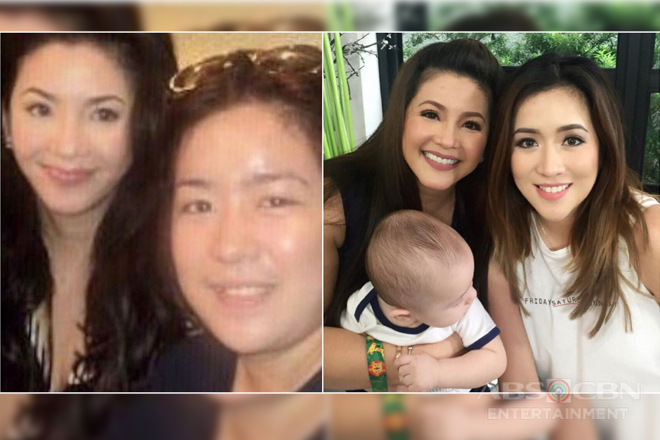 """THEN AND NOW: """"Fan girling"""" moments of Angeline Quinto with Asia's Songbird Regine Velasquez"""