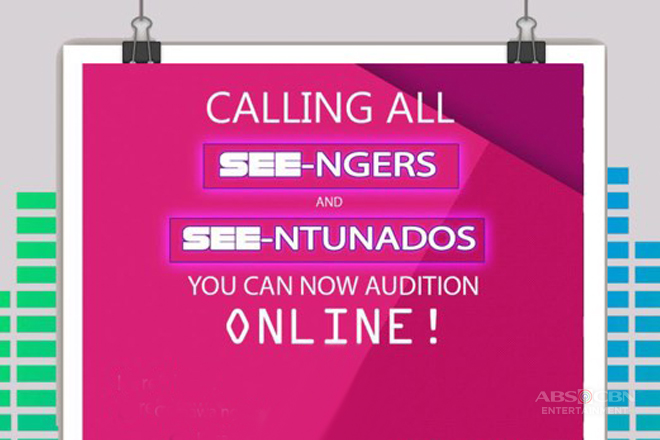 Calling All See-ngers and See-ntunados! Mag-audition na!