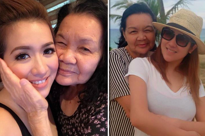 LOOK: Angeline Quinto's sweet moments with her real-life angel Mama Bob